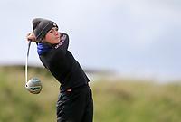 Corrina Griffin (Kilarney) during the 2nd round of the Irish Women's Open Stroke Play Championship, Enniscrone Golf Club, Enniscrone, Co. Sligo. Ireland. 16/06/2018.<br /> Picture: Golffile | Fran Caffrey<br /> <br /> <br /> All photo usage must carry mandatory  copyright credit (© Golffile | Fran Caffrey)