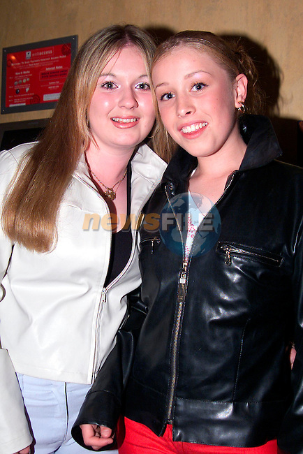 Martina Berril and Stacey Levins who took part in the Talent Show in the Bridgeford..Picture: Paul Mohan/Newsfile