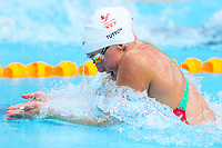 Picture by Alex Whitehead/SWpix.com - 05/04/2018 - Commonwealth Games - Swimming - Optus Aquatics Centre, Gold Coast, Australia - Chloe Tutton of Wales competes in the Women's 50m Breaststroke heats.