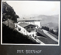 BNPS.co.uk (01202 558833)<br /> Pic: Jones&Jacob/BNPS<br /> <br /> The Berghof - The Fuhrers home in Berchtesgaden - The LSSAH were tasked with its protection.<br /> <br /> Springtime for Hitler...Chilling album of pictures taken by one of Hitlers bodyguards illustrates the Nazi dictators rise to power.<br /> <br /> An unseen album of photographs taken by a member of Hitlers own elite SS bodyguard division in the years leading up to the start of WW2.<br /> <br /> The 1st SS Panzer Division 'Leibstandarte SS Adolf Hitler' or LSSAH began as Adolf Hitler's personal bodyguard in the 1920's responsible for guarding the Führer's 'person, offices, and residences'.