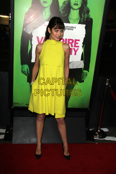 LOS ANGELES, CA - February 04: Olga Kurylenko at the &quot;Vampire Academy&quot; Los Angeles Premiere, Regal Cinemas, Los Angeles,  February 04, 2014. <br /> CAP/MPI/JO<br /> &copy;JO/MPI/Capital Pictures