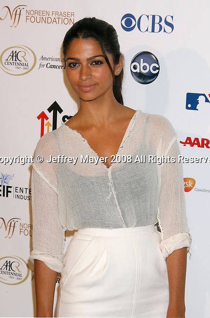 HOLLYWOOD, CA. - September 05: Camila Alves arrives at Stand Up For Cancer at The Kodak Theatre on September 5, 2008 in Hollywood, California.