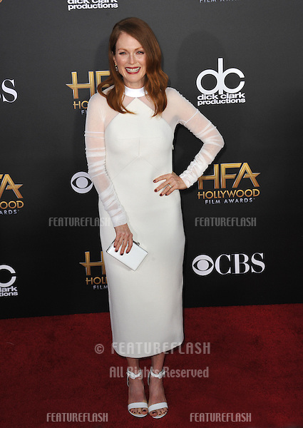 Julianne Moore at the 2014 Hollywood Film Awards at the Hollywood Palladium.<br /> November 14, 2014  Los Angeles, CA<br /> Picture: Paul Smith / Featureflash