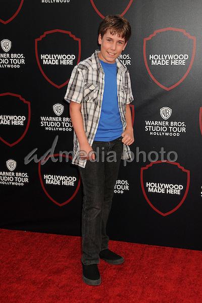 14 July 2015 - Burbank, California - Zachary Haven. Warner Bros. Studio Tour Stage 48: Script to Screen Launch Event held at Warner Bros. Studios. Photo Credit: Byron Purvis/AdMedia