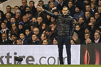 Mauricio Pochettino (Manager) of Tottenham Hotspur during the UEFA Europa League match between Tottenham Hotspur and Borussia Dortmund at White Hart Lane, London, England on 17 March 2016. Photo by David Horn / PRiME Media Images