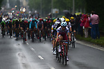 The peloton in action during Stage 2 of the 104th edition of the Tour de France 2017, running 203.5km from Dusseldorf, Germany to Liege, Belgium. 2nd July 2017.<br /> Picture: ASO/Pauline Ballet | Cyclefile<br /> <br /> <br /> All photos usage must carry mandatory copyright credit (&copy; Cyclefile | ASO/Pauline Ballet)