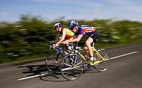 10 MAY 2009 - GRENDON,GBR - Grendon Triathlon .(PHOTO (C) NIGEL FARROW)