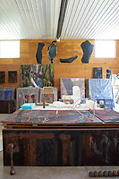 Sculptures and paintings