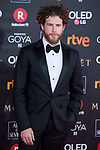 Alvaro Cervantes attends red carpet of Goya Cinema Awards 2018 at Madrid Marriott Auditorium in Madrid , Spain. February 03, 2018. (ALTERPHOTOS/Borja B.Hojas)