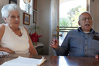 Gus and Helen Argyropoulous have lived in Oakland's Maxwell Park Neighborhood since 1953. Gus died on May 14, 2013 in his Maxwell Park home.
