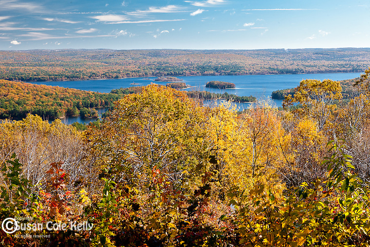 Autumn in the Quabbin Reservation, New Salem, MA, USA