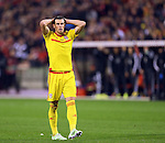 Wales' Gareth Bale looks on dejected after a missed chance<br /> <br /> - European Qualifier - Belgium vs Wales- Heysel Stadium - Brussels - Belgium - 16th November 2014  - Picture David Klein/Sportimage