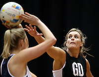 05.08.2015 Silver Ferns Leana de Bruin during Silver Ferns training ahead of the 2015 Netball World Champs at All Phones Arena in Sydney, Australia. Mandatory Photo Credit ©Michael Bradley.