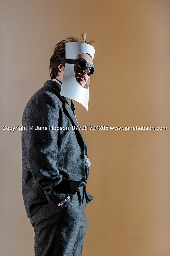 """English National Opera presents Christopher Alden's production of """"Partenope"""", by George Frederic Handel, at the London Coliseum.  Picture shows: Rupert Charlesworth (Emilio)"""