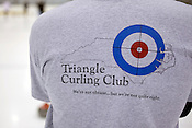 The Triangle Curling Club practices at The Factory in Wake Forest, Friday, Feb. 7, 2010.