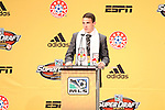 13 January 2011: New York Red Bulls selected John Rooney (ENG) with the #25 overall pick. The 2011 MLS SuperDraft was held in the Ballroom at Baltimore Convention Center in Baltimore, MD during the NSCAA Annual Convention.