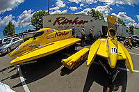 Terry Rinker's pit area #10   (Formula 1/F1/Champ class)
