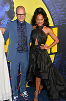 "LOS ANGELES, USA. October 15, 2019: Damon Lindelof & Regina King at the premiere of HBO's ""Watchmen"" at the Cinerama Dome, Hollywood.<br /> Picture: Paul Smith/Featureflash"