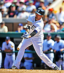 5 March 2009: Detroit Tigers' outfielder Alexis Gomez in action during a Spring Training game against the Washington Nationals at Joker Marchant Stadium in Lakeland, Florida. The Tigers defeated the visiting Nationals 10-2 in the Grapefruit League matchup. Mandatory Photo Credit: Ed Wolfstein Photo