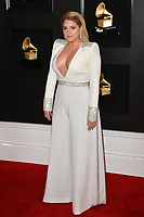 LOS ANGELES, CA - FEBRUARY 10: Meghan Trainor at the 61st Annual Grammy Awards at the Staples Center in Los Angeles, California on February 10, 2019. Credit: Faye Sadou/MediaPunch
