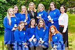 Students from St Brigid's Killarney Presentation who were honoured at the schools annual awards ceremony on Friday front row l-r: Hannah Daly, Ciara Moynihan, Kate Nash, AlisonCronin. Back row: Grace O'Callaghan, Emma Finn, Anna Clifford, Bridget Quilligan, Aoife Doody, Rebecca O'Sullivan and Mairead McElligott deputy Principal
