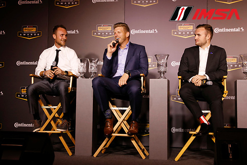 2018 Continental Tire SportsCar Challenge Awards, <br /> Tyler Cooke, James Clay, Nate Stacy