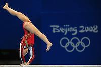 Cheg Fei, China, Women's Beam .NAtional Indoor Stadium - Ginnastica - Gymnastic.Pechino - Beijing 19/8/2008 Olimpiadi 2008 Olympic Games.Foto Andrea Staccioli Insidefoto
