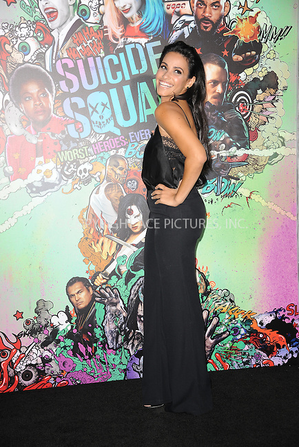 www.acepixs.com<br /> August 1, 2016  New York City<br /> <br /> Tiffany Smith attending the world premiere of Warner Bros. Pictures and Atlas Entertainment&rsquo;s 'Suicide Squad' at the Beacon Theatre on August 1, 2016 in New York City.<br /> <br /> <br /> Credit: Kristin Callahan/ACE Pictures<br /> <br /> <br /> Tel: 646 769 0430<br /> Email: info@acepixs.com