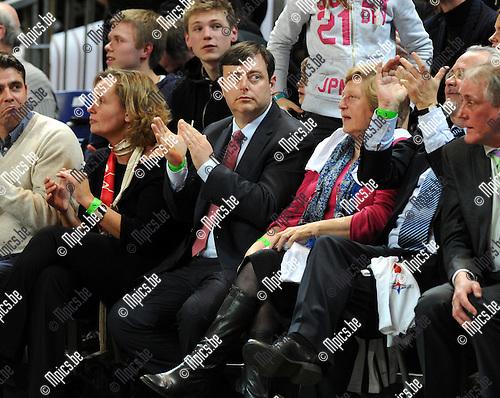 2012-02-15 / Basketbal / seizoen 2011-2012 / 1/4 finale Beker van België / Antwerp Giants - Charleroi / Sportpaleis / Bart de Wever..Foto: Mpics.be