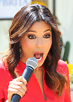 BURBANK, CA, USA - JUNE 11: Eva Longoria Helps Kick Off a Healthy and Hydrated Summer with the Burbank YMCA - Brita and Eva Longoria Help Kids Choose Water at Burbank YMCA Special Event at the Burbank Community YMCA on June 11, 2014 in Burbank, California, United States. (Photo by Xavier Collin/Celebrity Monitor)