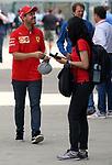 11.07.2019, Silverstone Circuit, Silverstone, FORMULA 1 ROLEX BRITISH GRAND PRIX 2019<br /> , im Bild<br />Sebastian Vettel (GER#5), Scuderia Ferrari Mission Winnow<br /> <br /> Foto © nordphoto / Bratic