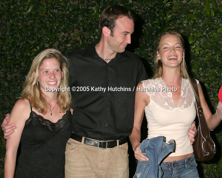 Ashley Scott and her brother Joshua, sister-in-law Lyne.Nautica & Details celebrates April issue of Details.Hollywood, CA.April 12, 2005.@2005 Kathy Hutchins / Hutchins Photo.i