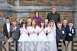 4420-4424.---------.Pupils from Caragh Lake National school who received their 1st Holy Communion at St James church Killorglin last Saturday were Shane O?g & Aaron O'Sullivan, Oisi?n Lernehan-Bolt, Jack O'Mahony, Niall Fenton-Toms, Calum Moriarty, Ni?arnach O'Shea, Gavin Joy, Aoife O'Sullivan,Louise Hearne,Melanie Sugrue and Zara Foley.Pictured with them were Emer Fleming(teacher)and Fr Michael Fleming.