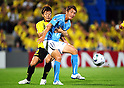 Naoya Kondo (Reysol), Hidetaka Kanazono (Jubilo), JUNE 15th, 2011 - Football : 2011 J.League Division 1 match between Kashiwa Reysol 0-3 Jubilo Iwata at Hitachi Kashiwa Soccer Stadium in Chiba, Japan. (Photo by AFLO).