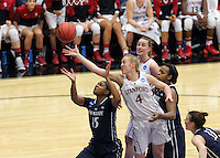 STANFORD, CA - March 30, 2014: Stanford Cardinal's Taylor Greenfield during Stanford's 82-57 victory over Penn State in the third round of the 2014 NCAA Women's Basketball Tournament at Maples Pavilion.