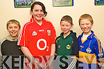 Winners of the Quiz section of the Sco?r Na Bpaisti North Kerry Finals which took place at The Sports Complex Mountcoal on Saturday night were representing St Senan's l/r Shay Healy, Sarah Browne, Gearoid Galvin and Christopher McKenna....................................................................................................................................................... ............