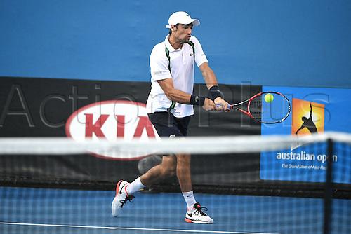 22.01.2016. Melbourne Park, Melbourne, Australia, Australian Open Tennis Championships.  Jeremy Chardy (FRA)