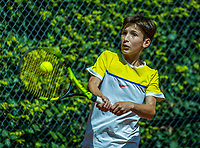 Hilversum, Netherlands, August 7, 2017, National Junior Championships, NJK, Joep Mallee<br /> Photo: Tennisimages/Henk Koster