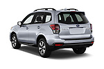 Car pictures of rear three quarter view of 2017 Subaru Forester Comfort 5 Door Wagon Angular Rear