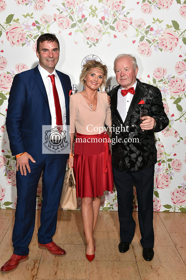 Stephen and Rose Murphy and Sean o'Donoghue, Killarney at the Killarney Apres Races party in The Brehon Hotel, Killarney on Thursday night.<br /> Photo: Don MacMonagle<br /> <br /> repro free photo<br /> further info: Aoife O'Donoghue aoife.odonoghue@gleneaglehotel.com