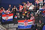 18.01.2020., Austria, Vienna, Wiener Stadthalle - European Handball Championship, Group I, Round 2, Croatia - Germany. Croatian fans<br /> <br /> Foto © nordphoto / Luka Stanzl/PIXSELL