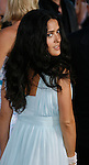 """Actress Salma Hayek arrives at The Los Angeles Premiere of """"Vicky Cristina Barcelona"""" at the Mann Village Theatre on August 4, 2008 in Westwood, California."""