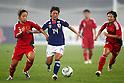 (L to R) Qu Shanshan (CHN), Megumi Kamionobe (JPN), September 11, 2011 - Football / Soccer : Women's Asian Football Qualifiers Final Round for London Olympic Match between Japan 1-0 China at Jinan Olympic Sports Center Stadium, Jinan, China. (Photo by Daiju Kitamura/AFLO SPORT) [1045]