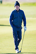 5th October 2017, The Old Course, St Andrews, Scotland; Alfred Dunhill Links Championship, first round; Sir Anthony McCoy walks along the fairway.