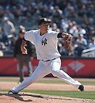 Masahiro Tanaka (Yankees),<br /> APRIL 6, 2015 - MLB : Masahiro Tanaka of the New York Yankees.<br /> opening day of the Major League Baseball game against the Toronto Blue Jays at Yankee Stadium in Bronx, NY, United States.<br /> (Photo by AFLO)