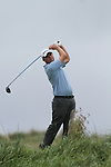 Day one of the Irish PGA championship at Seapoint Golf Club, Christopher Jelly from Dungannon GC on the 10th tee...Picture Jenny Matthews/Newsfile.ie