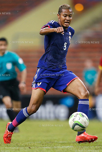 Musashi Suzuki (JPN), MARCH 29, 2015 - Football / Soccer : AFC U-23 Championship 2016 Qualification Group I match between U-22 Japan 2-0 U-22 Vietnam at Shah Alam Stadium in Shah Alam, Malaysia. (Photo by Sho Tamura/AFLO SPORT)