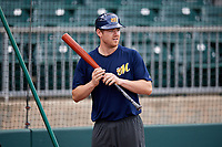 Montgomery Biscuits Mac James (13) during batting practice before a game against the Mississippi Braves on April 24, 2017 at Montgomery Riverwalk Stadium in Montgomery, Alabama.  Montgomery defeated Mississippi 3-2.  (Mike Janes/Four Seam Images)