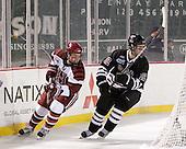 Luke Greiner (Harvard - 26), Kyle Bodie (Union - 12) - The Union College Dutchmen defeated the Harvard University Crimson 2-0 on Friday, January 13, 2011, at Fenway Park in Boston, Massachusetts.