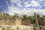 Samaria, the Crusader Church of St John the Baptist in Sebastia